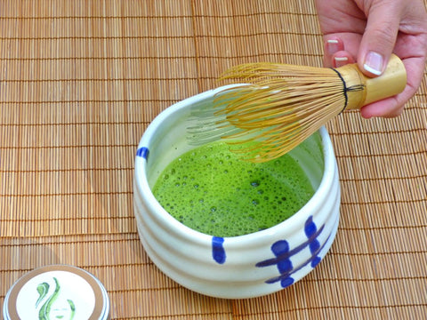 Enjoy your perfect bowl of matcha