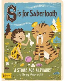 S is for saber tooth