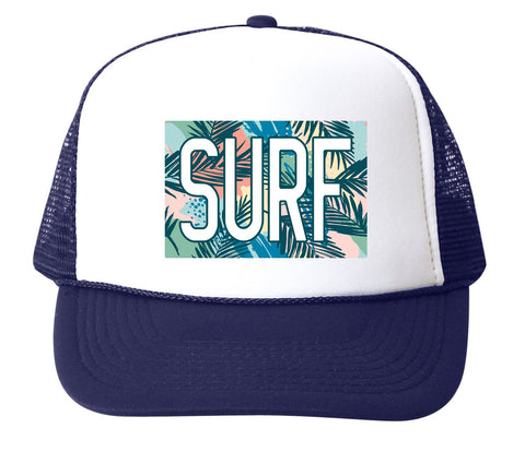 Surf Floral Trucker Hat