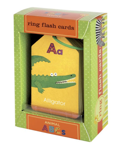 Animals ABC's Flashcards