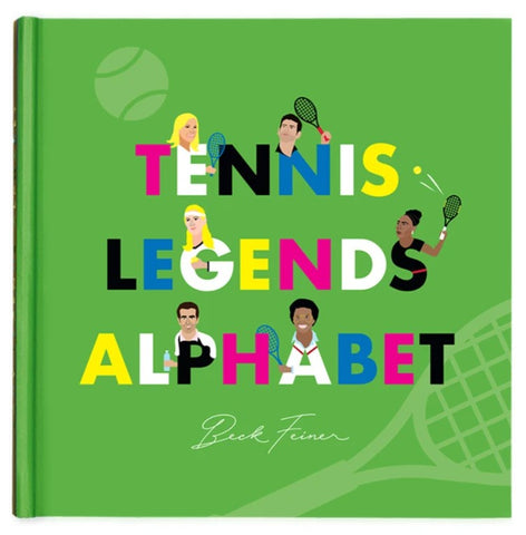 Tennis Legends Alphabet