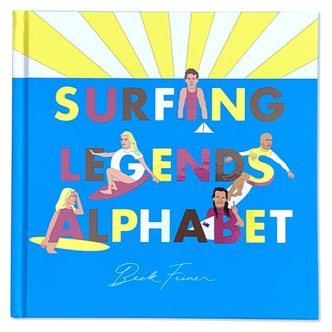 Surfing Legends Alphabet