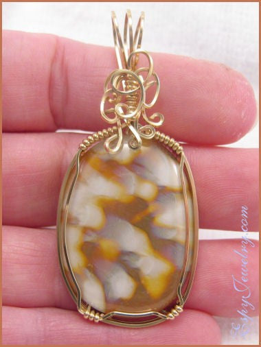 Art Glass Pendant / Slide - PND-0783