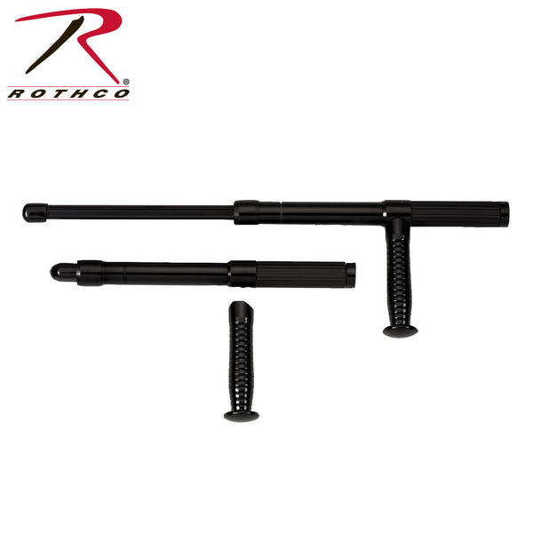 "Rothco 21"" Expandable Aluminum Baton w/ Side Handle"
