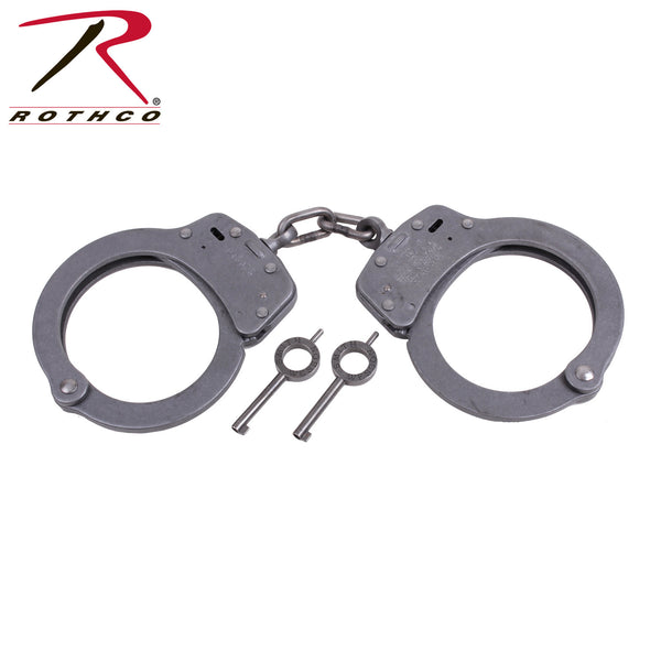 Smith & Wesson Nickel Handcuffs