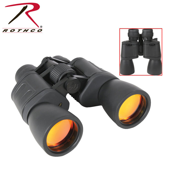 Rothco 8-24 x 50MM Zoom Binocular - Black