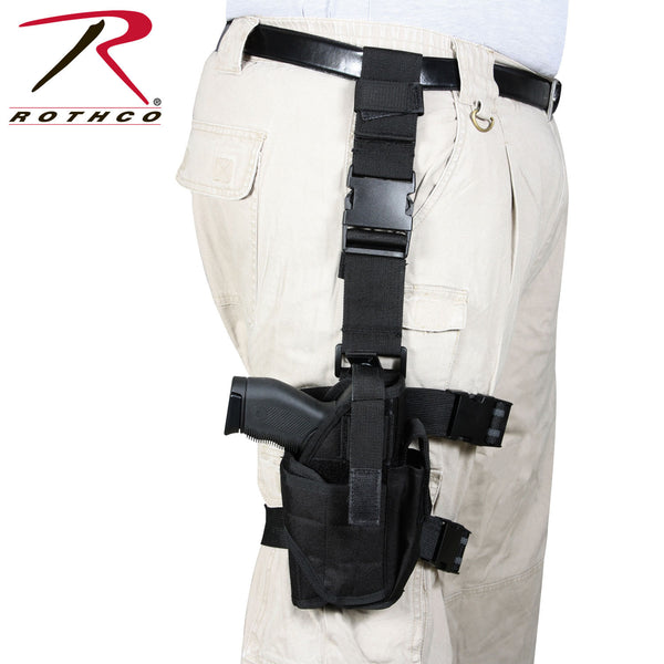 Rothco Deluxe Adjustable Drop Leg Tactical Holster
