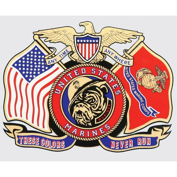 "Marine ""These Colors Never Run"""