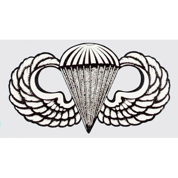 Basic Parachutist Badge