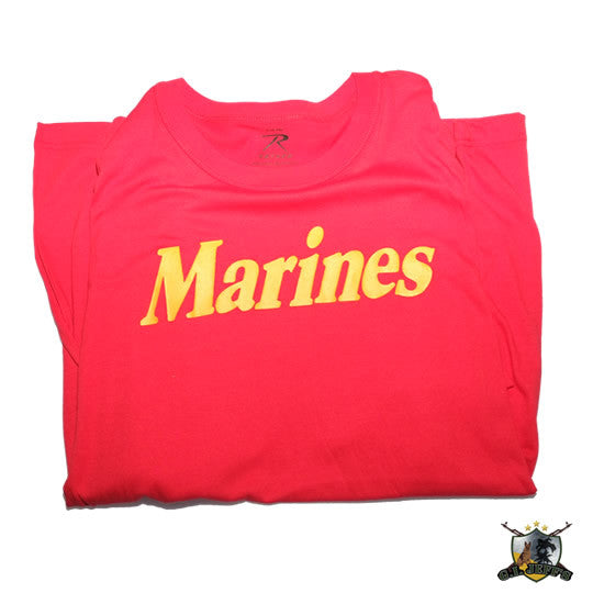 Marines T-Shirt Red