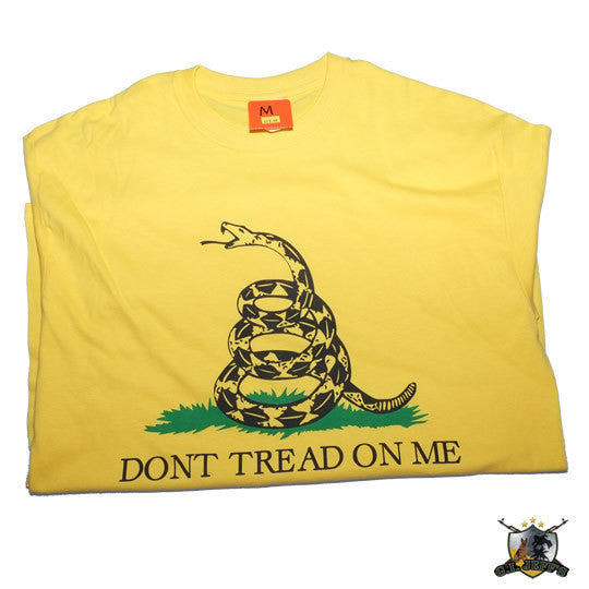 DON'T TREAD ON ME T-Shirt Yellow