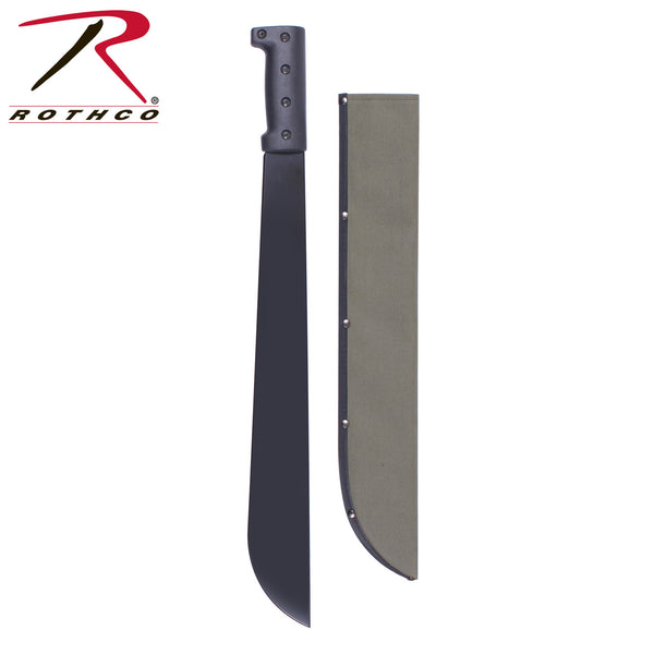 Rothco Bush Pro Steel Machete w/Sheath