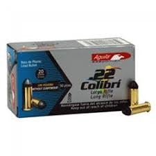 Aguila 22LR Quiet Colibri Not for Semi-Auto 20 gr LRN 50 per box
