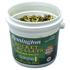 Remington 22LR Bucket of Bullets 21231 36gr Plated HP 1400rds