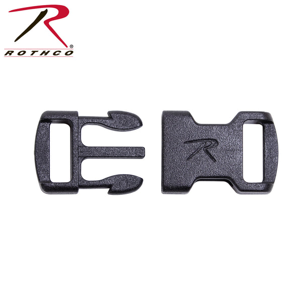 Rothco 3/8'' Flat Side Release Buckle