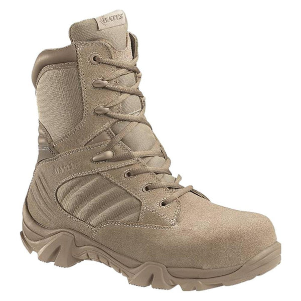 2276 BATES GX-8 COMPOSITE TOE SIDE ZIP DESERT
