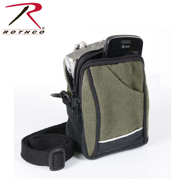 Rothco Canvas Camera Pouch
