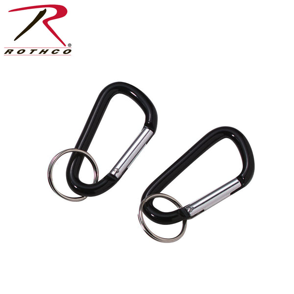 Rothco Accessory Carabiner w/ Key Ring