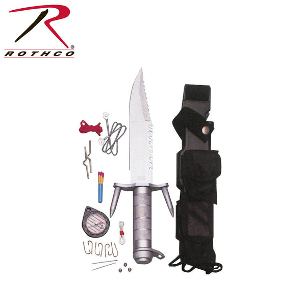 Rothco Ramster Survival Kit Knife