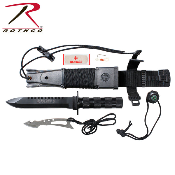 Rothco Jungle Survival Kit Knife