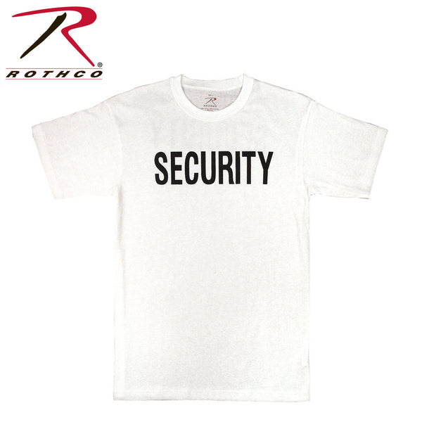 Rothco White Security T-Shirt