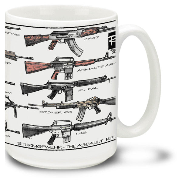 ASSAULT RIFLES - 15OZ. MUG
