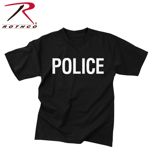 Rothco 2-Sided Police T-Shirt