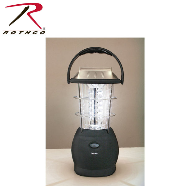 Rothco 36-Bulb LED Solar and Handcrank Lantern