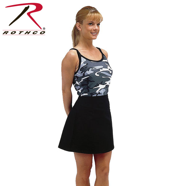 Rothco Womens Camo Ribbed Spaghetti Tank Top