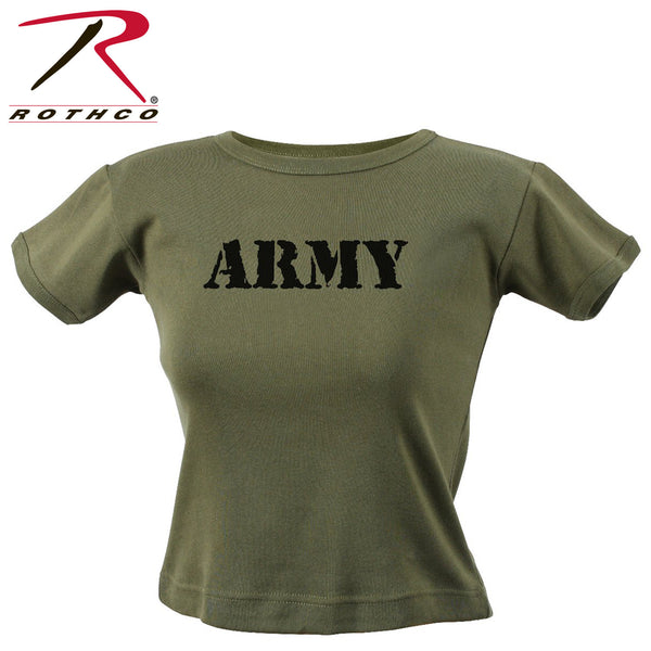 Rothco Women's Olive Drab Army T-Shirt
