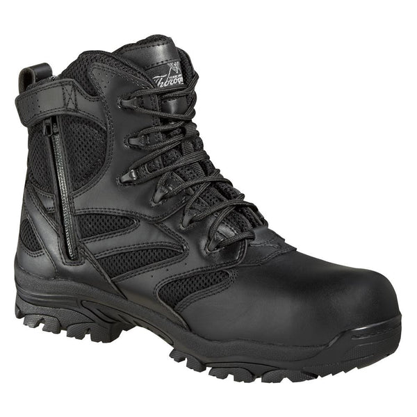 "804-6190 THOROGOOD 6"" WATERPROOF SIDE ZIP COMPOSITE SAFETY TOE"
