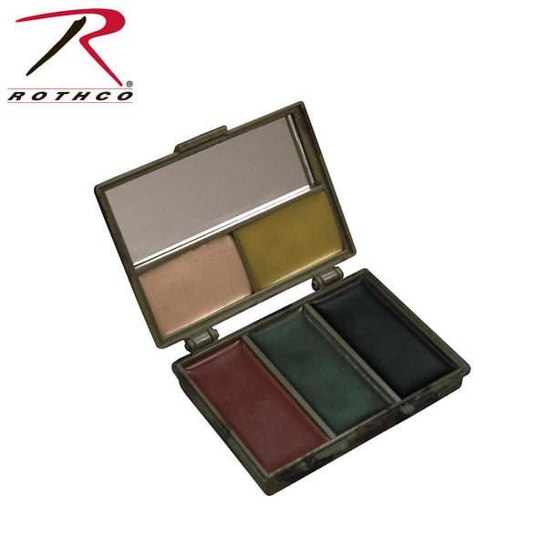 Rothco Five-color Bark Camouflage Face Paint Compact