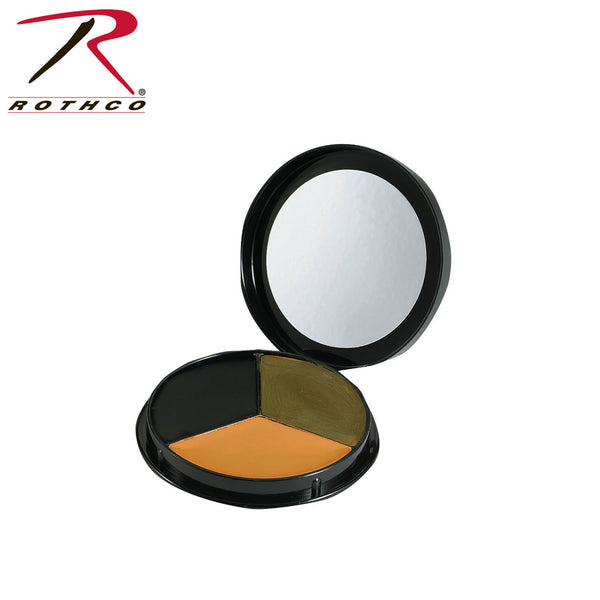 Rothco GI 3 Color Face Paint Compact