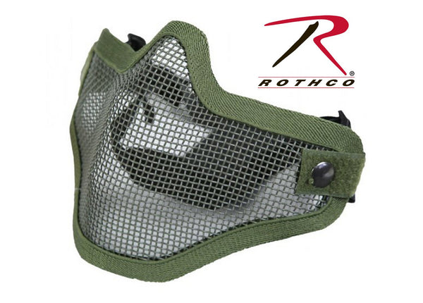 Bravo Tac Gear Strike Steel Half Face Mask