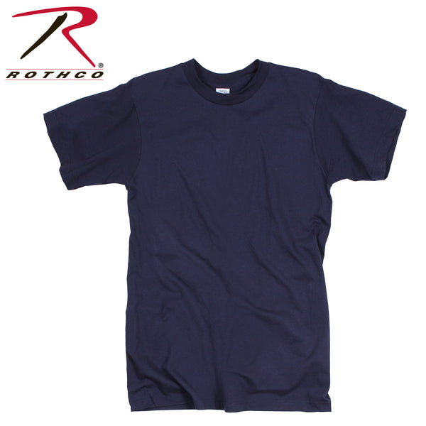 GI Irregular 100% Cotton Navy Blue T-shirt