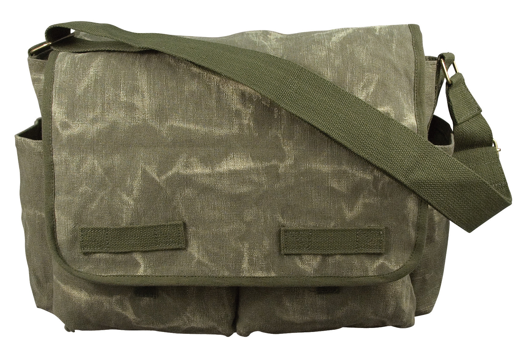 881abb48c7 Rothco Stone Washed Canvas Classic Messenger Bag - GI Jeffs