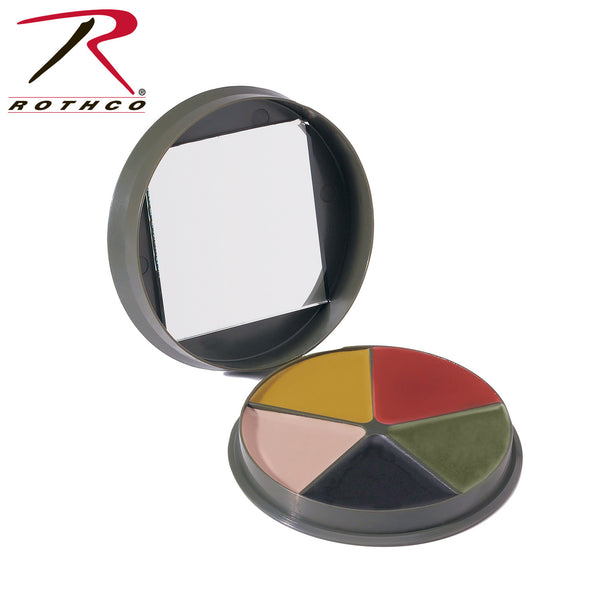 G.I. Type 5 Color Camo Face Paint Compact
