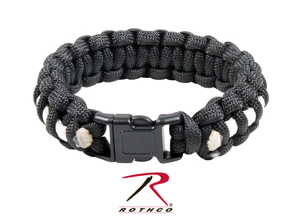 Rothco Two-Tone Paracord Bracelet