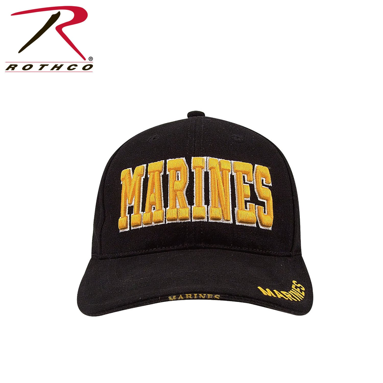 ab1ef5116a6 Rothco Deluxe Marines Low Profile Insignia Cap - GI Jeffs
