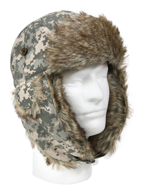 Rothco Camo Fur Flyers Hat