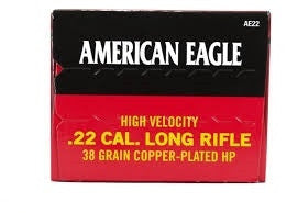 Federal American Eagle 22LR 38gr High Velocity AE22 Box of 400