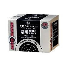 Federal AM22 22LR Auto Match 40g LRN CASE 3250 per case