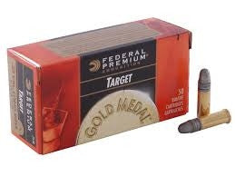 Federal 711b 22LR Gold Medal Target 40 gr LRN BRICK 500 per box