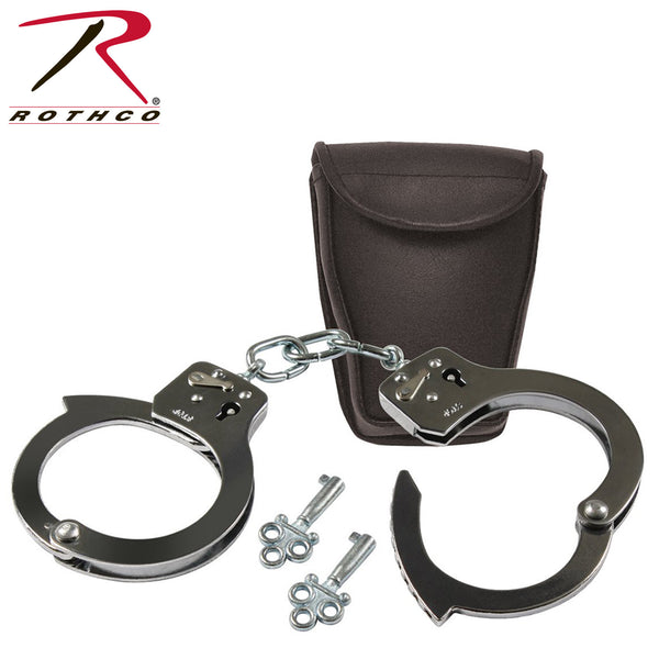 Rothco Promotional Handcuffs With Case