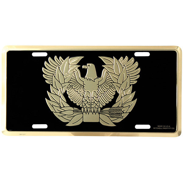 Army Warrant Officer License Plate