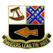 "PIN-ARMY,RANGER,LEAD THE (1"")"