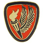 "PIN-ARMY,AVIATION SCHOOL FORT RUCKE (1"")"