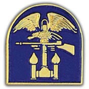 "PIN-ARMY,AMPH (BLUE) 3RD SPEC.ENGINEER BGD. (1"")"