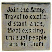 "PIN-ARMY,JOIN THE ARMY LT (1"")"