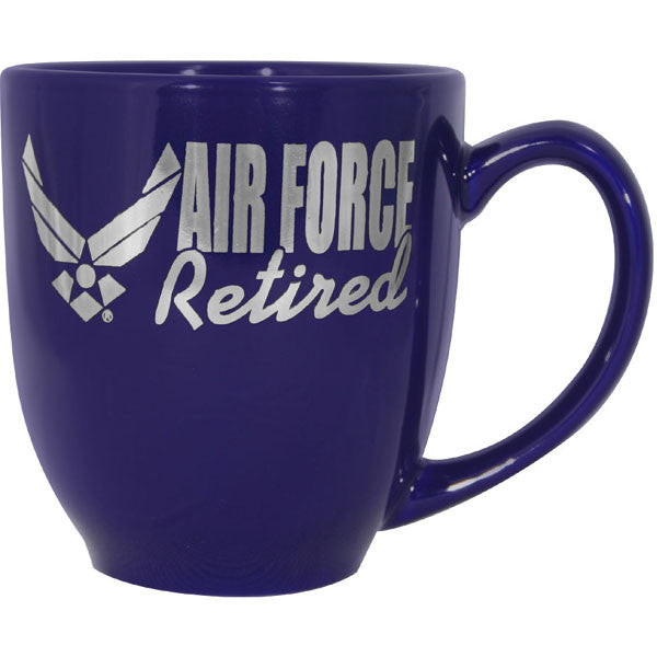 "Air Force ""Retired"" Ceramic Mug"